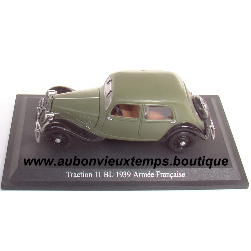 citroen traction avant 11 bl armee francaise 1939. Black Bedroom Furniture Sets. Home Design Ideas