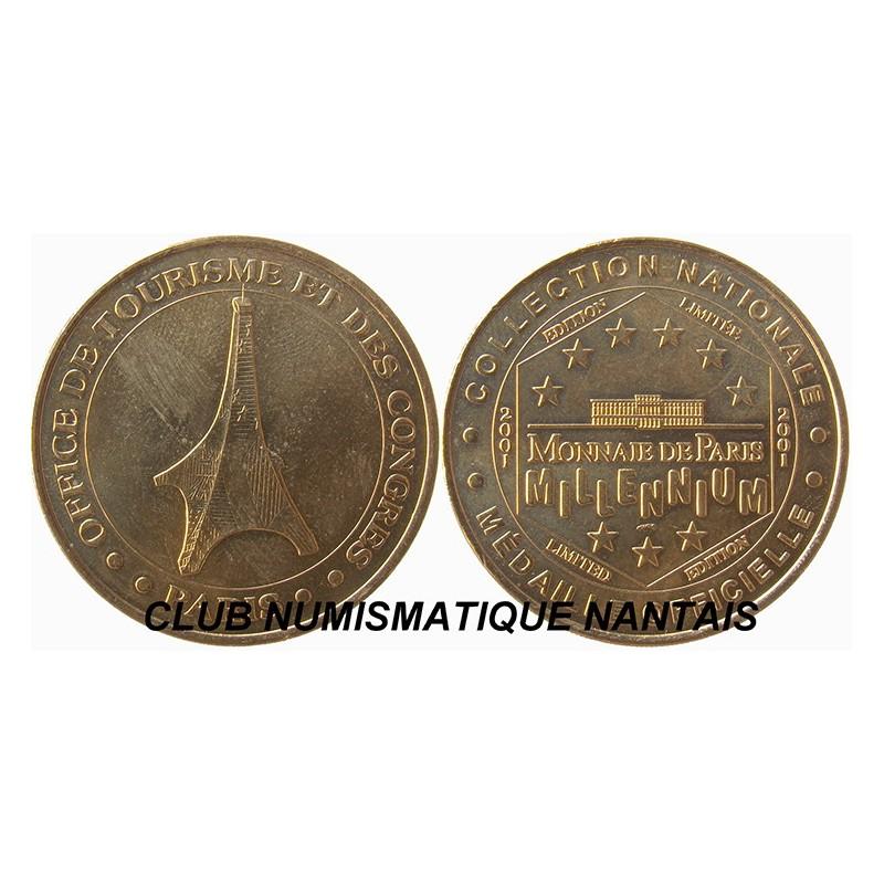 Medaille touristique 2001 office de tourisme et des - Office de tourisme et des congres de paris ...