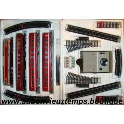 coffret jouef train electrique ref 7553 la fleche rouge. Black Bedroom Furniture Sets. Home Design Ideas
