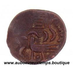 2 PE ( 1/2 FUANG ) CAMBODGE 1847 - ANG DUONG