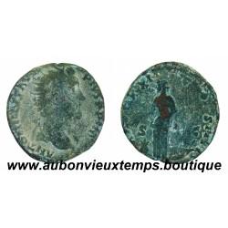 DUPONDIUS  ANTONIN LE PIEUX  157 - 158 Ap J.C.  ROME
