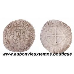 BLANC à la COURONNE CHARLES VIII 1483 - 1498