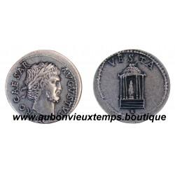DENIER ARGENT NERON 65 - 66 Ap J.C. ROME