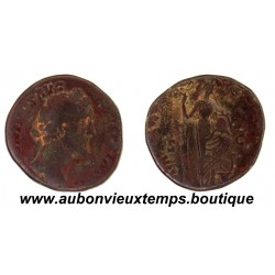 SESTERCE  ANTONIN LE PIEUX  157 - 158 Ap J.C.  ROME