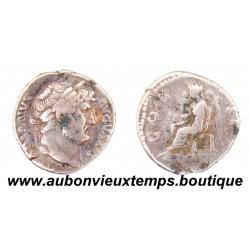 DENIER ARGENT  HADRIEN  128  Ap J.C.  ROME