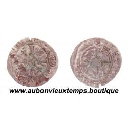 DENIER ARGENT  PHILIPPE LE BON  1419 - 1467  FLANDRES