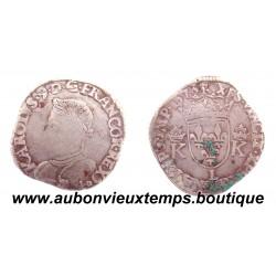 TESTON CHARLES IX 1573 BAYONNE