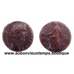 SESTERCE  ANTONIN LE PIEUX  146   Ap J.C.  ROME