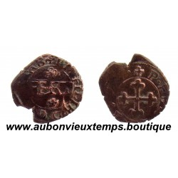 QUART de GROS  EMMANUEL –PHILIBERT  1577  AOSTE - NV  COMPTE de SAVOIE