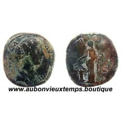 SESTERCE  LUCILLE  166 – 169   Ap J.C.  ROME