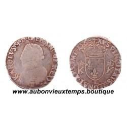TESTON 4ème type CHARLES IX 1568 L BAYONNE