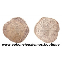 DOUZAIN  aux 2 H  HENRI IV  1594  LIMOGES