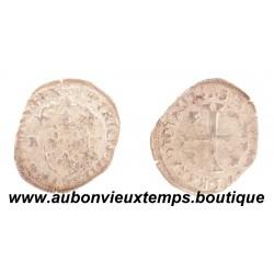 DOUZAIN  aux 2 H  HENRI IV  1594