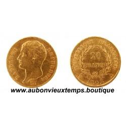 20 FRANCS OR NAPOLEON 1er 1807 A REPUBLIQUE FRANCAISE