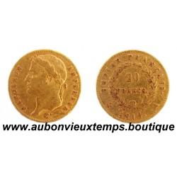 20 FRANCS OR NAPOLEON 1er 1815 A EMPIRE FRANCAIS