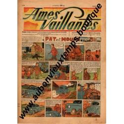 HEBDOMADAIRE AMES VAILLANTES  N° 4  25.01.1948  EDITION FLEURUS