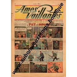 HEBDOMADAIRE AMES VAILLANTES  N° 3  18.01.1948  EDITION FLEURUS