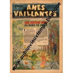 HEBDOMADAIRE AMES VAILLANTES  N° 39  18.09.1947  EDITION FLEURUS