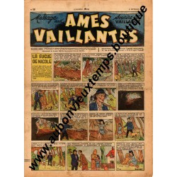 HEBDOMADAIRE AMES VAILLANTES  N° 38  21.09.1947  EDITION FLEURUS