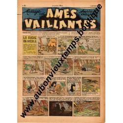 HEBDOMADAIRE AMES VAILLANTES  N° 37  14.09.1947  EDITION FLEURUS