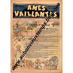 HEBDOMADAIRE AMES VAILLANTES  N° 24  15.06.1947  EDITION FLEURUS