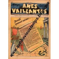 HEBDOMADAIRE AMES VAILLANTES  N° 23  8.06.1947  EDITION FLEURUS