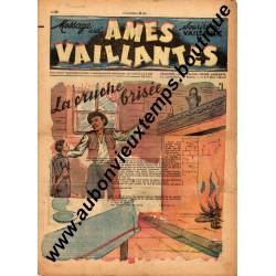 HEBDOMADAIRE AMES VAILLANTES  N° 19  11.05.1947  EDITION FLEURUS