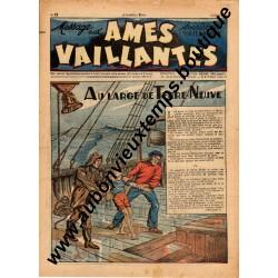 HEBDOMADAIRE AMES VAILLANTES  N° 13  30.03.1947  EDITION FLEURUS