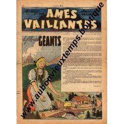 HEBDOMADAIRE AMES VAILLANTES  N° 8  23.02.1947  EDITION FLEURUS