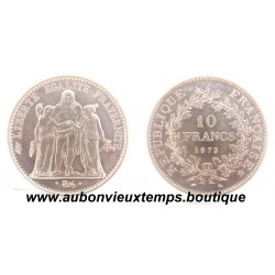 10 FRANCS ARGENT  1973  HERCULE