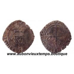 """GROS dit """"FLORETTE"""" CHARLES VI LE FOU OU LE BIEN AIMÉ ND ( 1417 - 1419 )"""