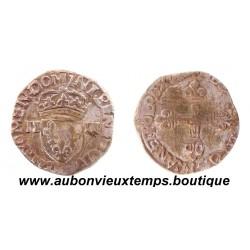1 /4  ECU ARGENT  HENRI III  158-  ROUEN