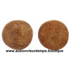 DUPONDIUS TRAJAN 112 - 117 Ap J.C.