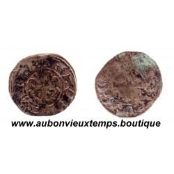 DENIER ARGENT  ND ( 1186 – 1206 )  NANTES  DUCHÉ DE BRETAGNE - ANONYMES