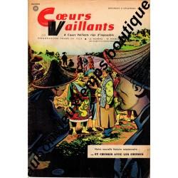 HEBDOMADAIRE COEURS VAILLANTS N° 49 8.12.1957
