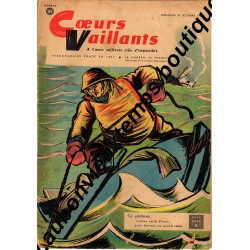 HEBDOMADAIRE COEURS VAILLANTS N° 43 27.10.1957