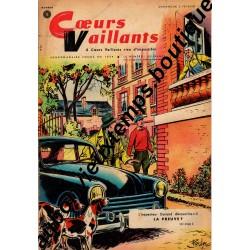 HEBDOMADAIRE COEURS VAILLANTS N° 5 2.02.1959