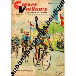 HEBDOMADAIRE COEURS VAILLANTS N° 35 31.08.1959