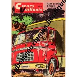 HEBDOMADAIRE COEURS VAILLANTS N° 35 31.08.1961