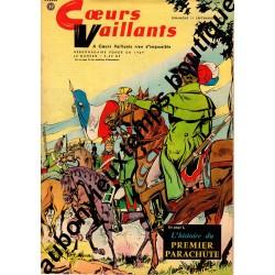 HEBDOMADAIRE COEURS VAILLANTS N° 37 11.09.1960