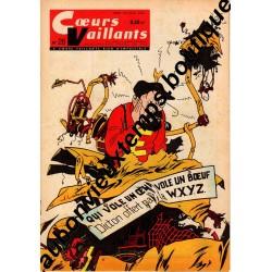 HEBDOMADAIRE COEURS VAILLANTS N° 26 29.06.1961