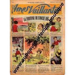HEBDOMADAIRE AMES VAILLANTES N° 31 31.07.1955 EDITION FLEURUS