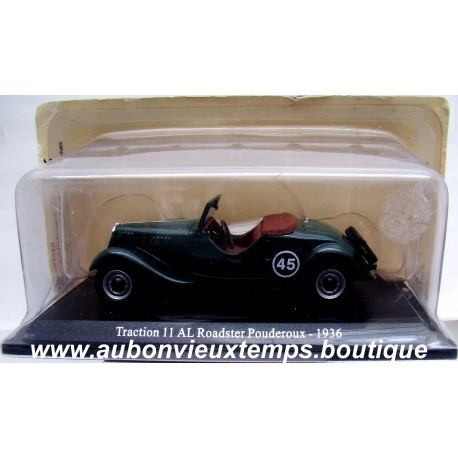 NOREV 1/43 CITROEN TRACTION 11 AL ROADSTER POUDEROUX 1936