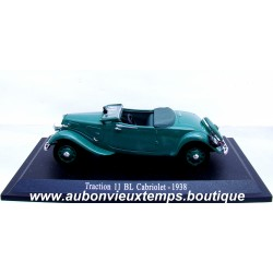 NOREV 1/43 CITROEN TRACTION 11 BL CABRIOLET 1938
