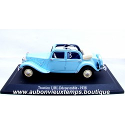 NOREV 1/43 CITROEN TRACTION 11 BL DECOUVRABLE 1938
