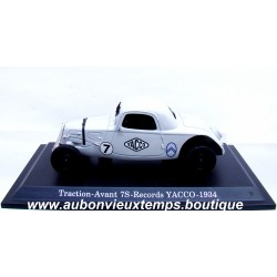 NOREV 1/43 CITROEN TRACTION AVANT 7S - RECORDS YACCO - 1934