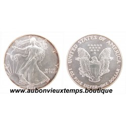 DOLLAR ARGENT 999.3/1000 SILVER EAGLES 1992