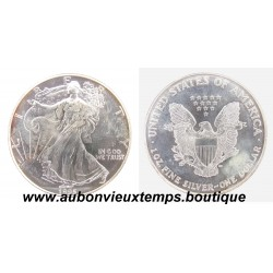 DOLLAR ARGENT 999.3/1000 SILVER EAGLES 1995