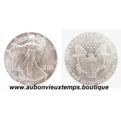 DOLLAR ARGENT 999.3/1000 SILVER EAGLES 1987