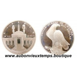 DOLLAR ARGENT 900/1000 OLYMPIC COLISEUM 1984